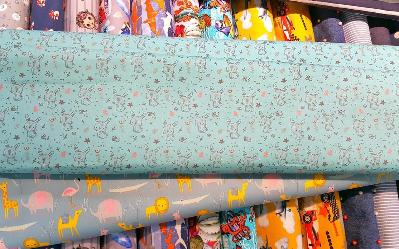 Tolle Auswahl an Baumwoll-Drucken